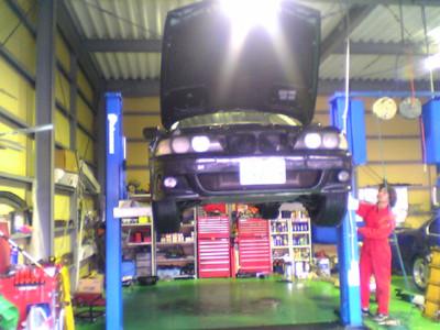 2005/03/26 エンジンオイル漏れ修理