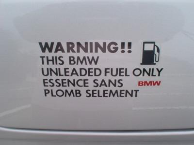ガソリンステッカー:リメイク品(DIY)
