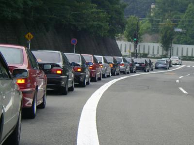 E39の渋滞の図