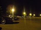 前夜)ロッジ前